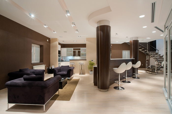 amenagement salon entree